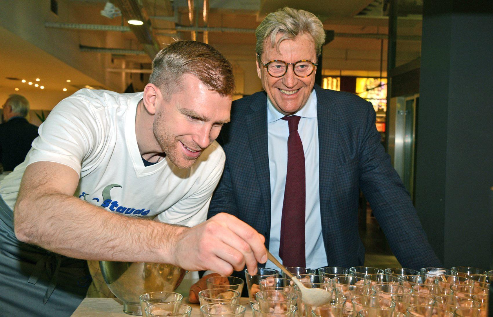 Fußballweltmeister trifft Sternekoch