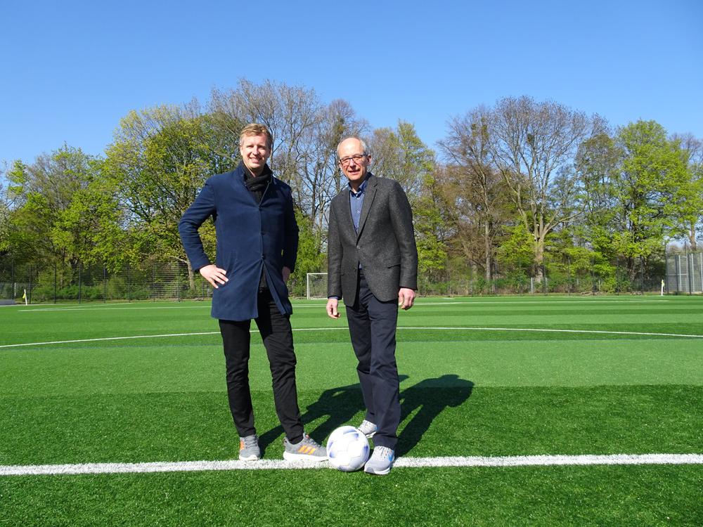 Anstoß für Kooperation mit dem Institut für Sportwissenschaft der Leibniz Universität Hannover
